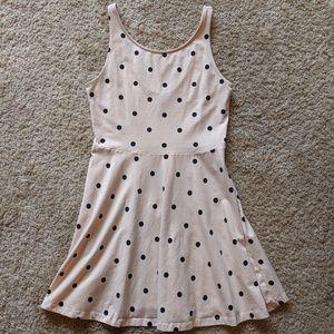 H&M sleeveless polka dot dress